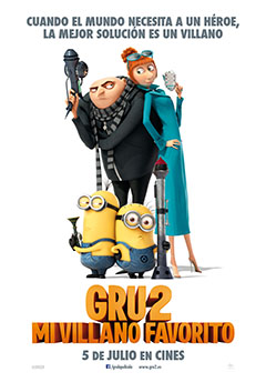 Cartel Gru2 Mi villano favorito