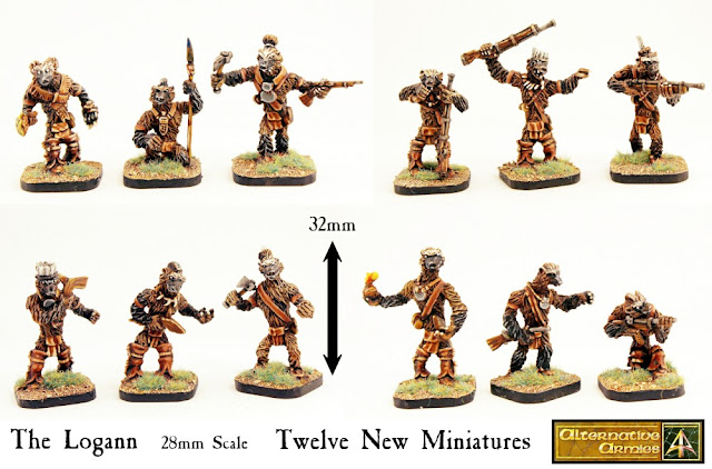 Wargame News and Terrain: Alternative Armies: Logann Braves Twelve