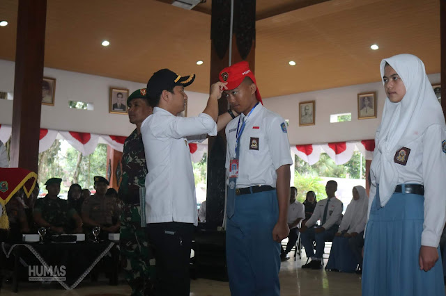 Bupati Trenggalek Buka Pelatihan Paskibraka Kabupaten Trenggalek