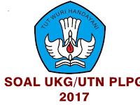 Kumpulan Soal Latihan UKG Ulang/UTN PLPG Tahun 2017 Plus Jawabannya