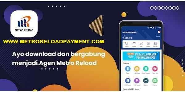 Download Aplikasi Android MR Mobile Topup Metro Reload Pulsa unduh me/mr
