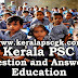Kerala PSC Question and Answers on Education in India