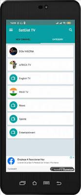 تحميل تطبيق SatGist Live TV apk لمشاهدة القنوات العالمية المشفرة للأندرويد مجانا