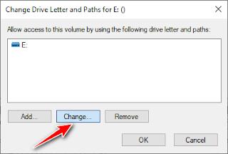 كيفية تغيير حرف أو رمز البارتشن الهارد فى الويندوز