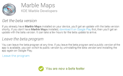 Marble Maps - Find your way and explore the world on Android!