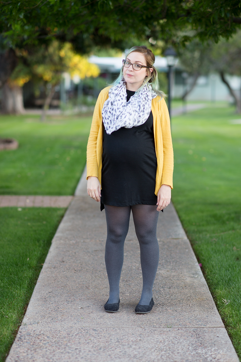 Black and Yellow Maternity Wear - littleladylittlecity.com