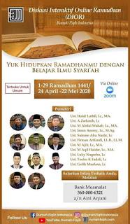 Diskusi Interaktif Online Ramadhan (DIOR) Rumah Fiqih Indonesia - Kajian Islam