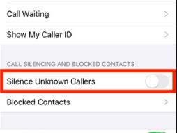 كيفية إسكات المكالمات غير المعروفة تلقائيًا في iPhone على iOS 13