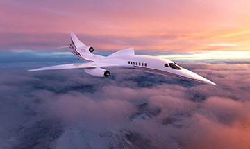 Aerion AS2 Supersonic Jet Aircraft (Source: Aerion Corp.)