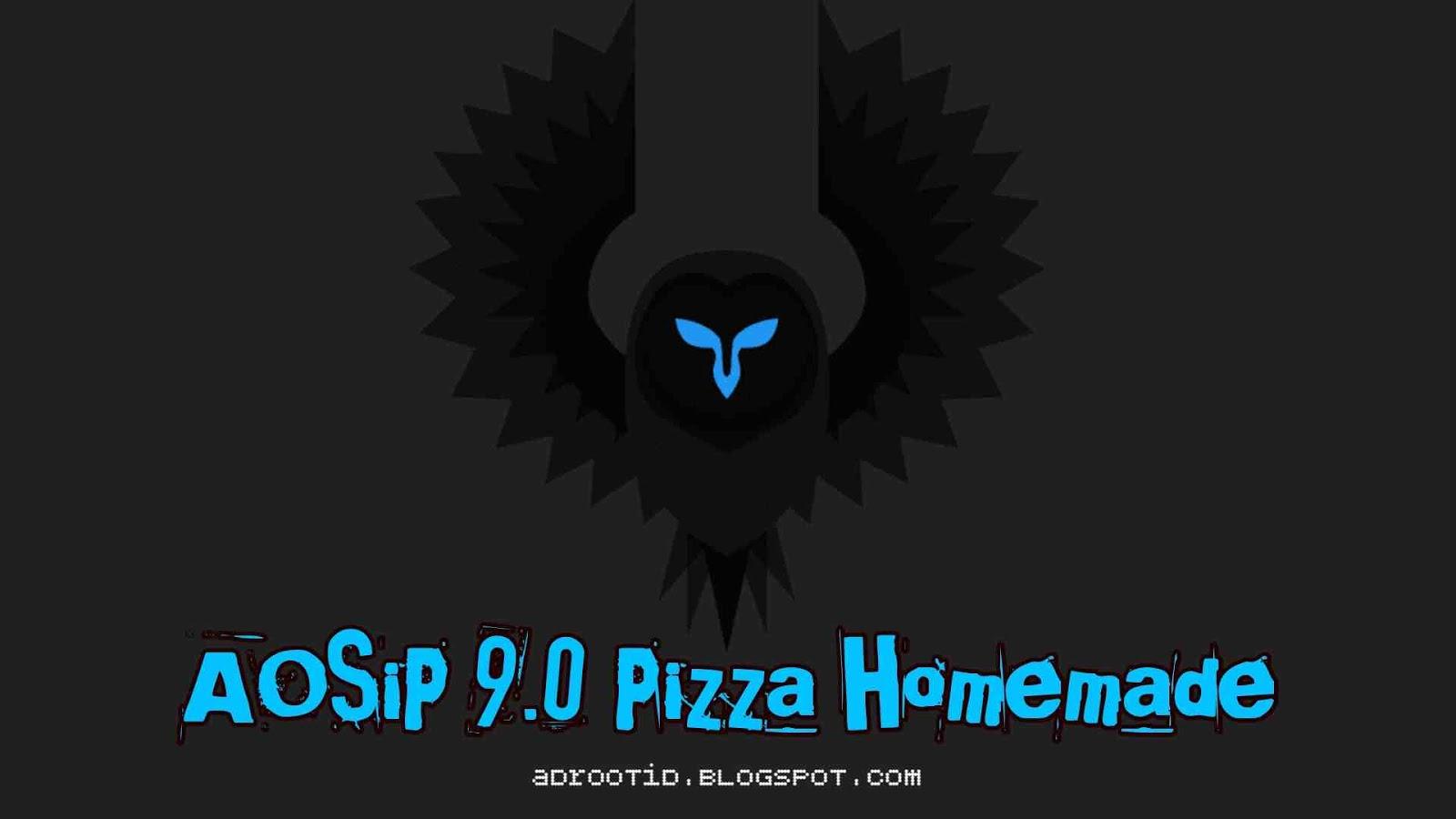AOSIP Pizza Rom Redmi 4X