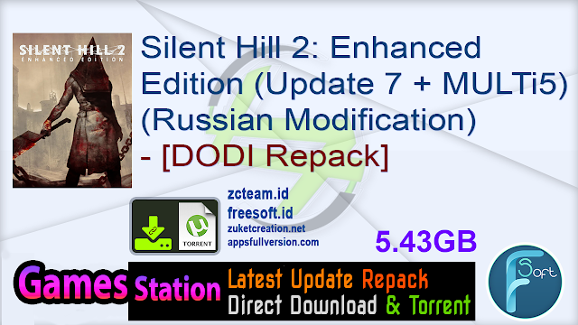 Silent Hill 2 Enhanced Edition (Update 7 + MULTi5) (Russian Modification) – [DODI Repack]