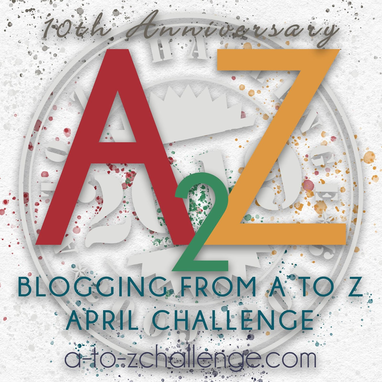 A to Z Challenge Badge 2019
