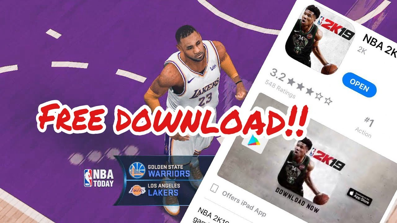 DOWNLOAD NBA 2K19 [FOR ANDROID MOBILE] - NBA 2K Updates