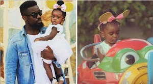 Sarkodie  marks daughter's birthday amidst death speculated gist(Photos)