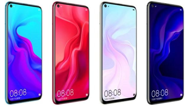 هواوي تطلق رسميا هاتف Huawei Nova 4 بسعر يبدأ من 450 دولار