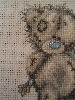 Tatty Teddy - week 3