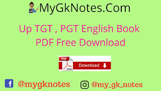 Up TGT , PGT English Book PDF Free Download