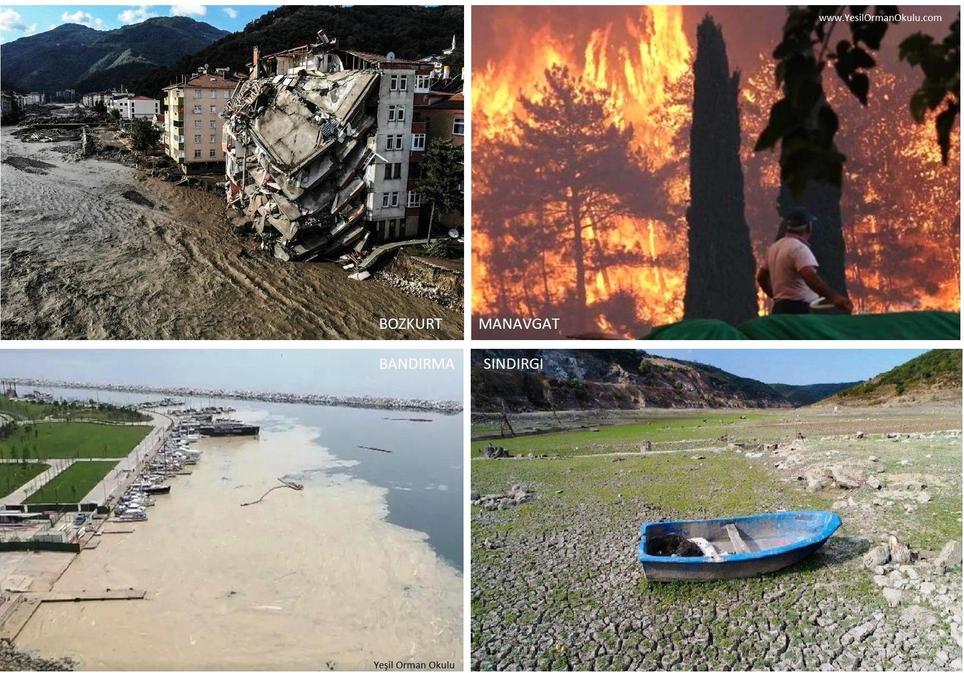 Türkiye İklim Değişikliği Fotoğrafları 2021