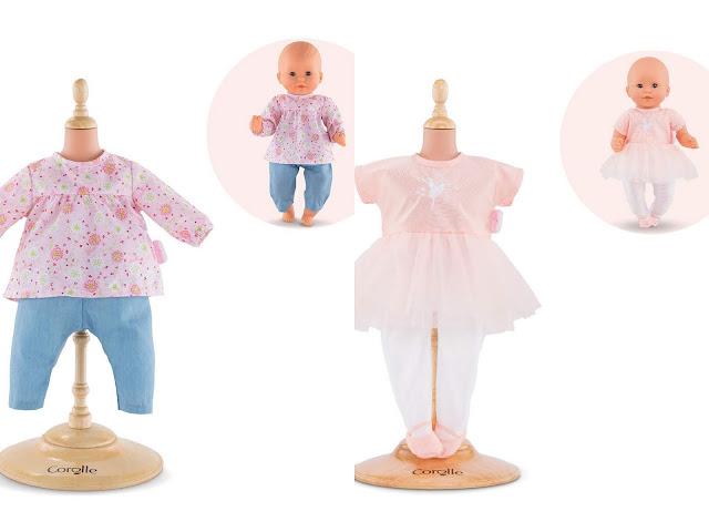 Vêtements bébé Corolle Blouse et pantalon - Combinaison ballerine