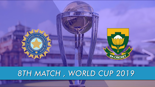 CricketHighlightsz - India vs South Africa 8th Match ICC World Cup 2019 Highlights