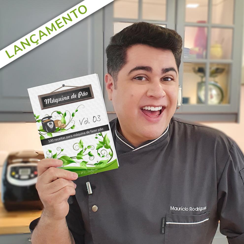 """LANÇAMENTO: Livro """"Máquina de Pão - Vol. 03""""!"""