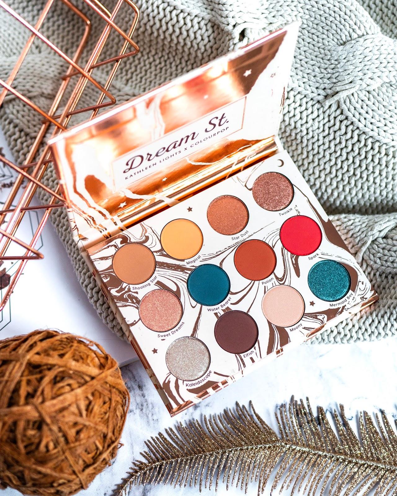 ColourPop Dream St. – recenzja, swatche, makijaże