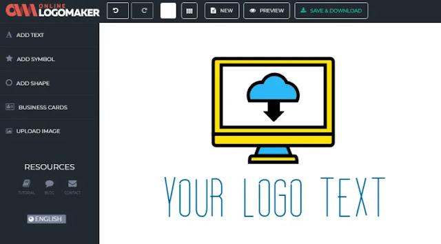 طريقة تصميم شعارك الخاص Logo اونلاين باللغة العربية بدون تطبيقات