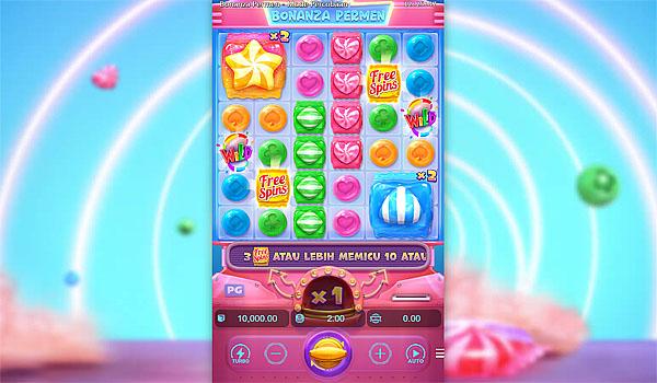 Main Gratis Slot Indonesia - Candy Bonanza PG Soft
