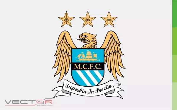Manchester City FC (1997) Logo - Download Vector File CDR (CorelDraw)