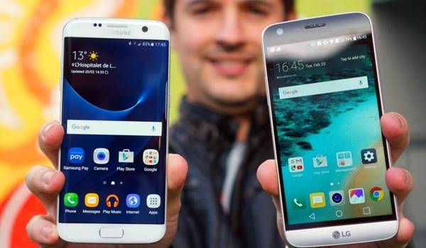 Comparativo LG G5 SE vs Galaxy S7 Edge