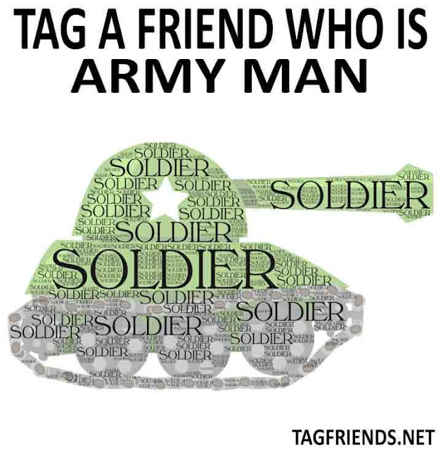 Tag A Friend & Pay A Tribute To ARMY Soldier