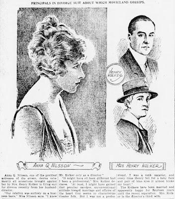 Lillian Kolker Anna Q. Nilsson Henry Kolker