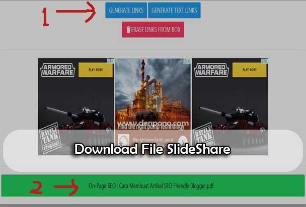 Cara Download File di Slideshare Secara Cepat dan Mudah