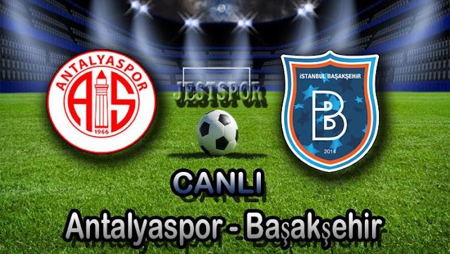 Antalyaspor - Başakşehir Jestspor izle