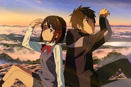 Perbedaan Waktu dan Umur Mitsuha dan Taki pada film Kimi No Nawa