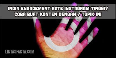 Menaikkan Engagement Rate Instagram