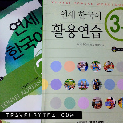 Our upgraded Yonsei Korean Textbook and Workbook