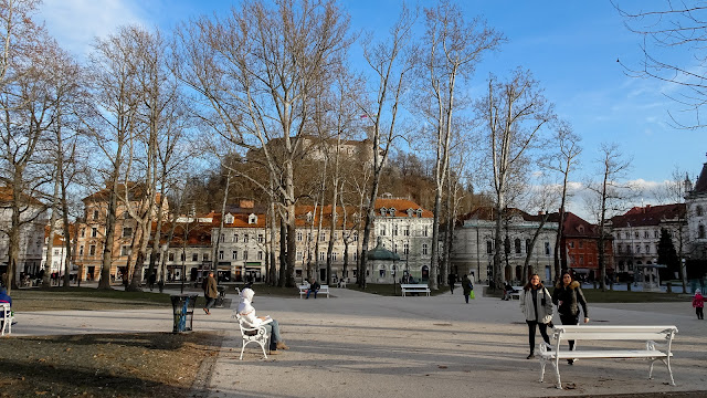 In Ljubliana is the Congress Square
