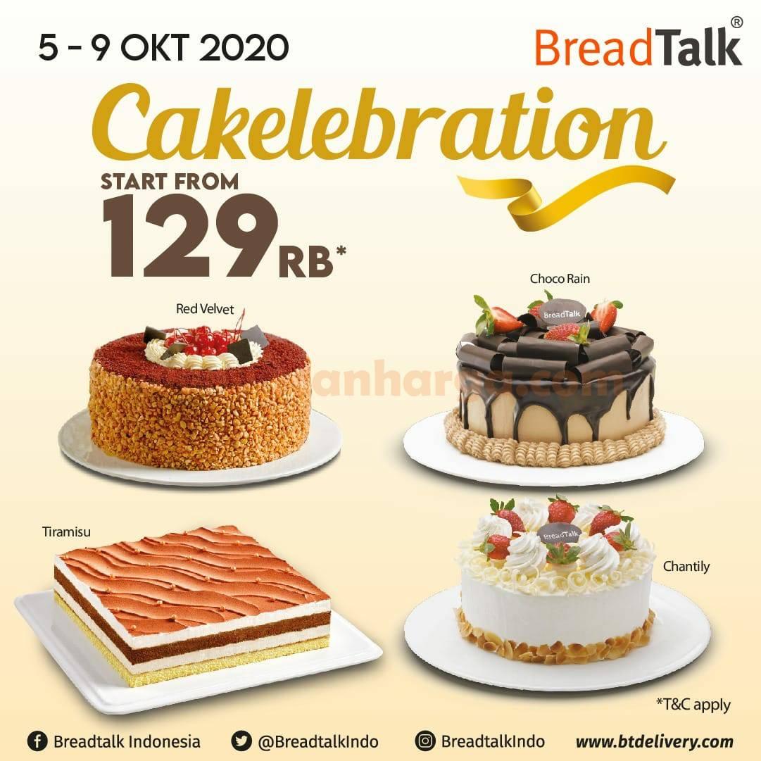 Breadtalk Promo CAKElebration Semua Whole Cakes mulai dari Rp129rb!