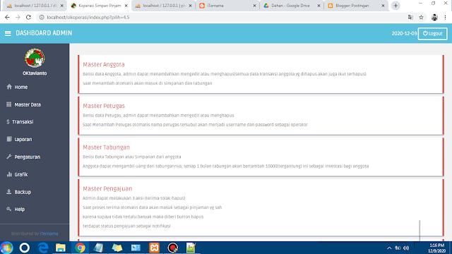 Source Code Aplikasi Koperasi Simpan Pinjam