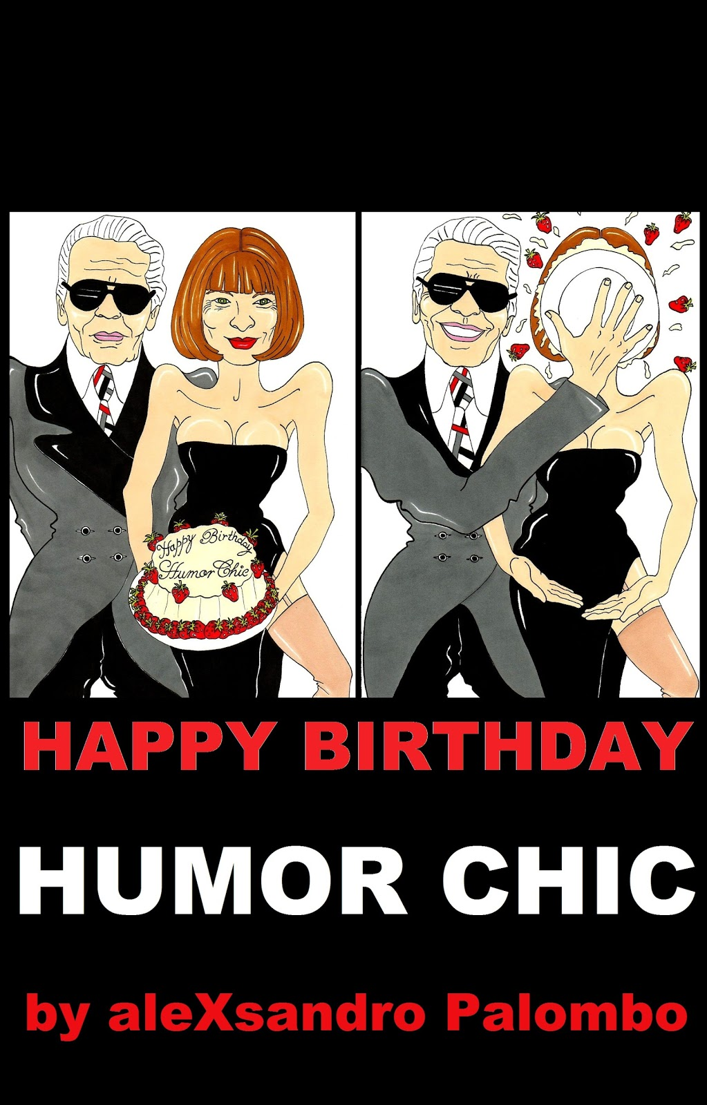 happy birthday humor chic by alexsandro palombo is the seven