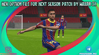 Option File For Next Season Patch September 2020 PES 2017