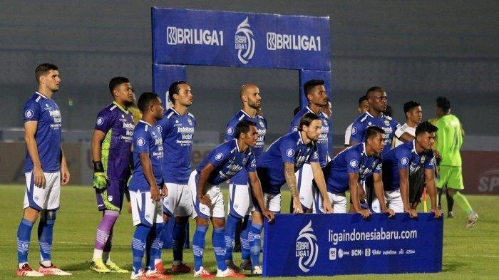 Starting XI Persib Bandung Liga 1 2021