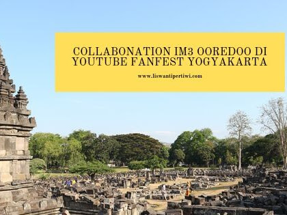 Collabonation IM3 Ooredoo Di Youtube FanFest Yogyakarta