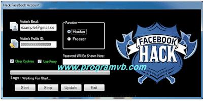 تحميل برنامج التجسس على رسائل الفيس بوك  Messages facebook hacker