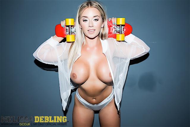 Melissa Debling big boobs skater girl naked boobs