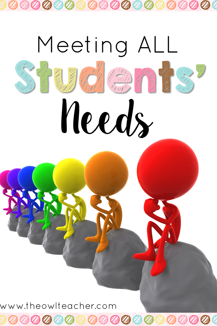 how to meet the social needs of students