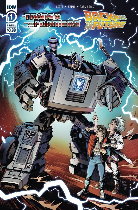 Cover of Transformers Back to the Future #1