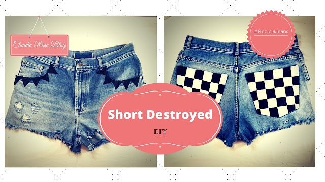 Como Customizar Short Jeans