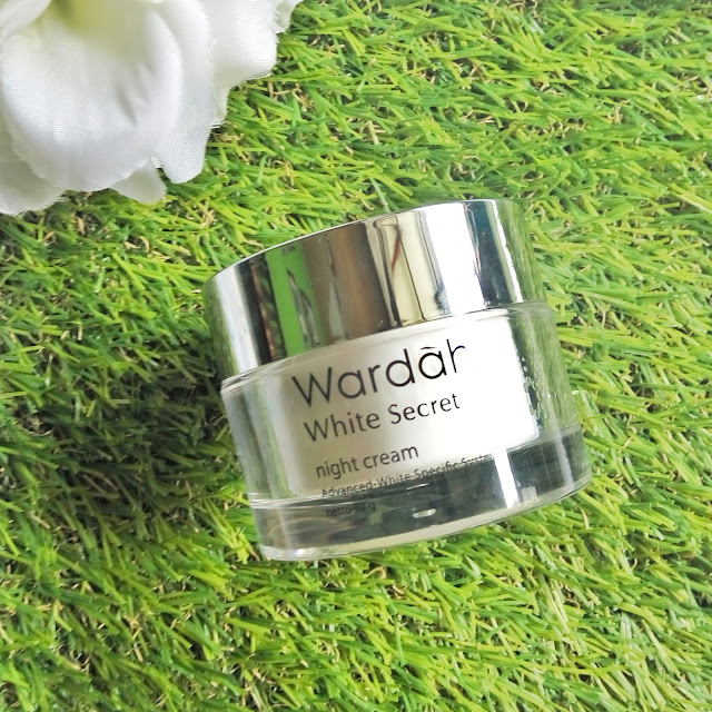 Wardah White Secret Series - wardah krim malam